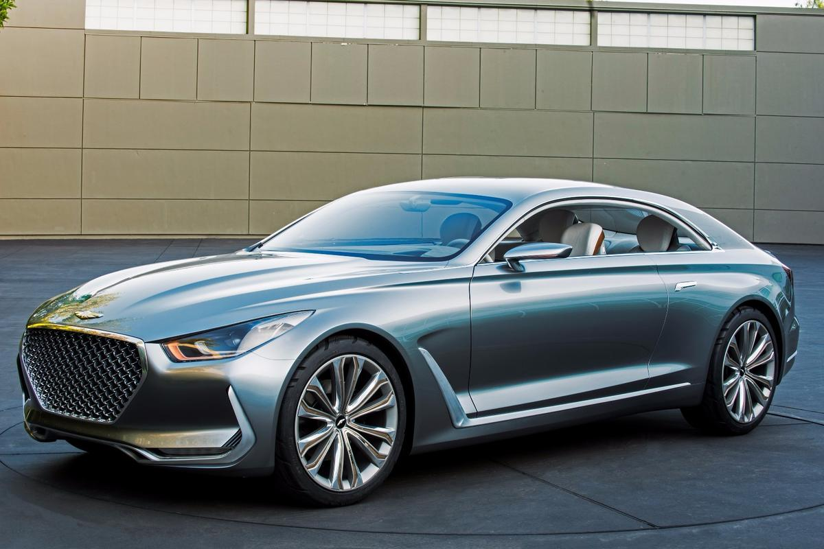 The Hyundai Vision G Concept Coupe points to the design of future luxury Hyundais