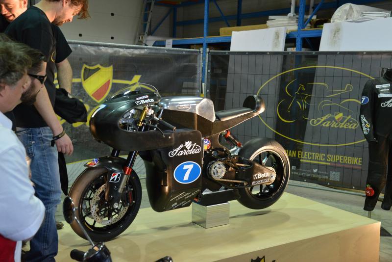 Saroléa's SP7 electric superbike: unveiling