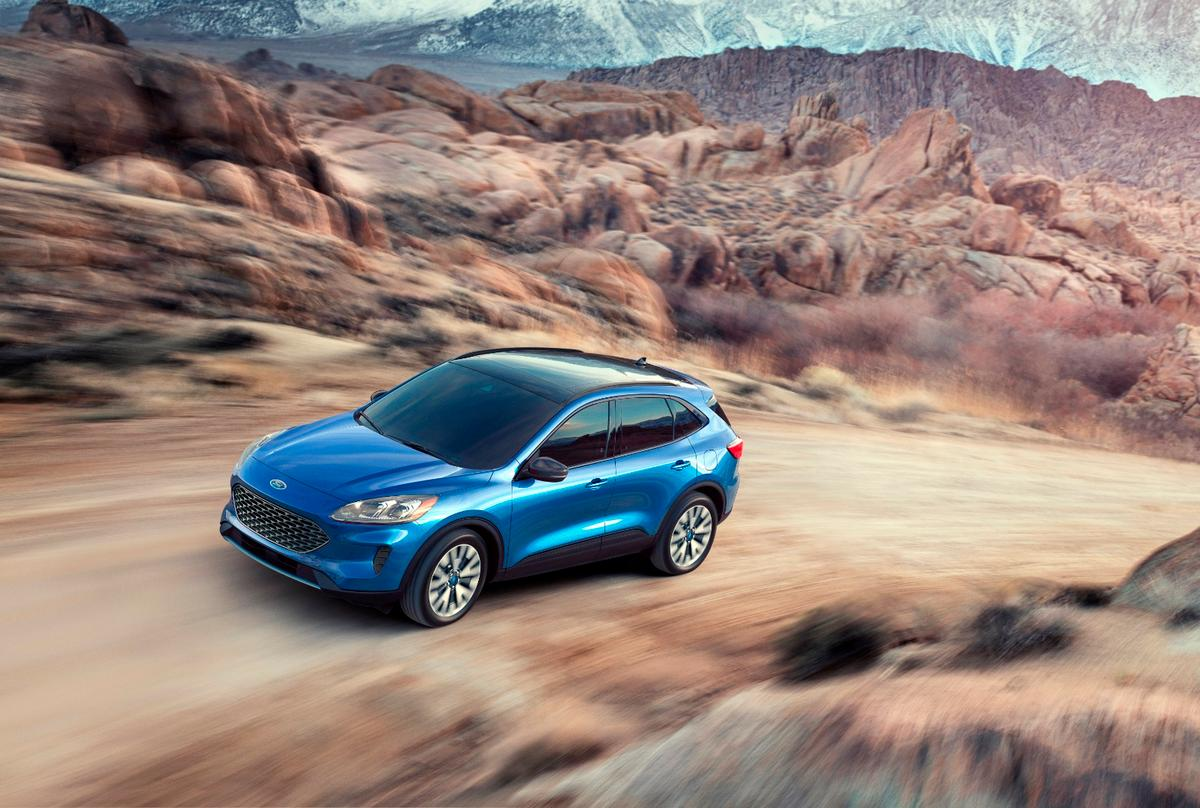 The 2020 Ford Escape now comes with 30-plus miles of all-electric driving thanks to a new plug-in hybrid version