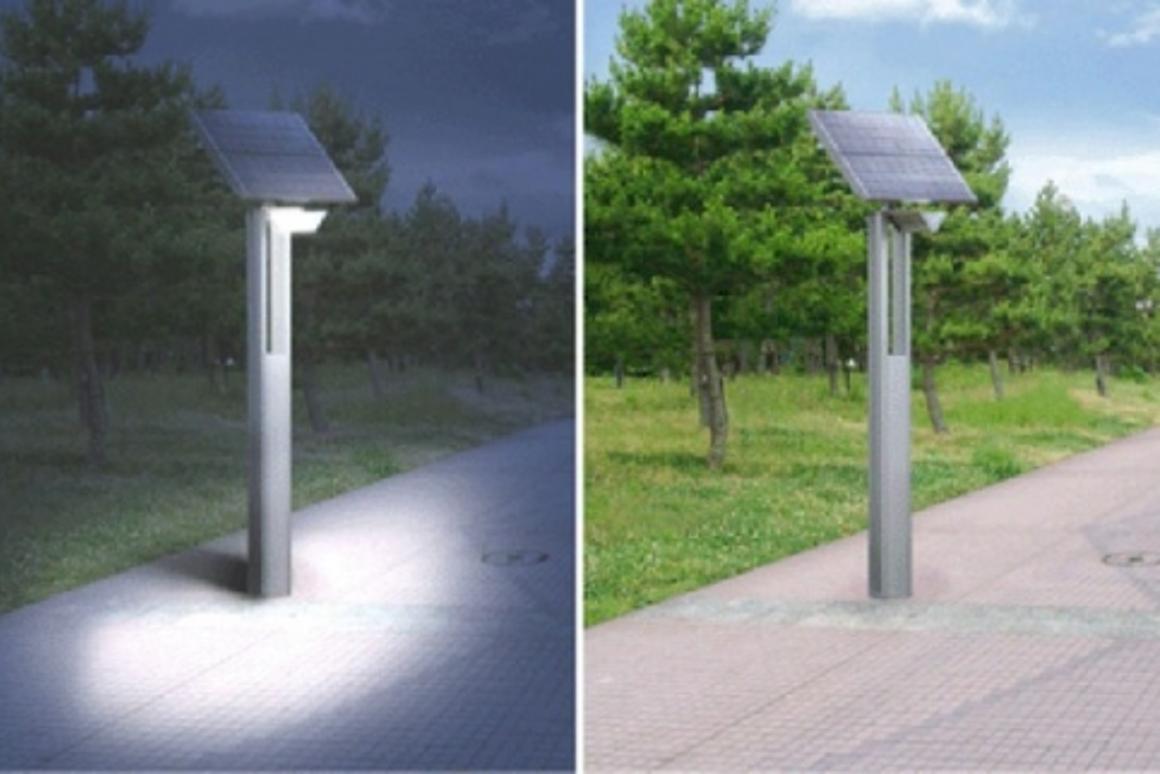 LN-LW3A1 Solar-Powered LED Street LightSharp conceptual image