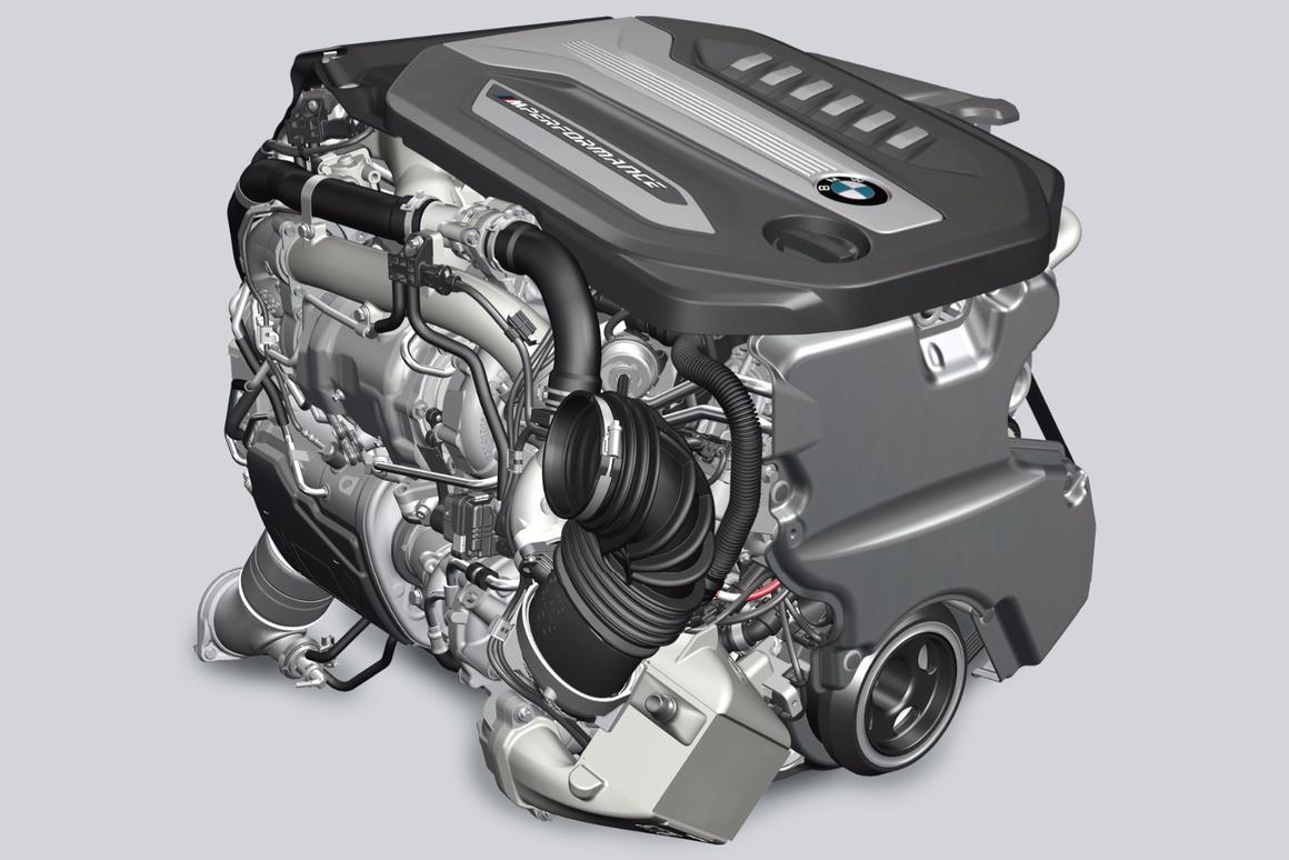 BMW diesel gets four turbos for big torque and small fuel