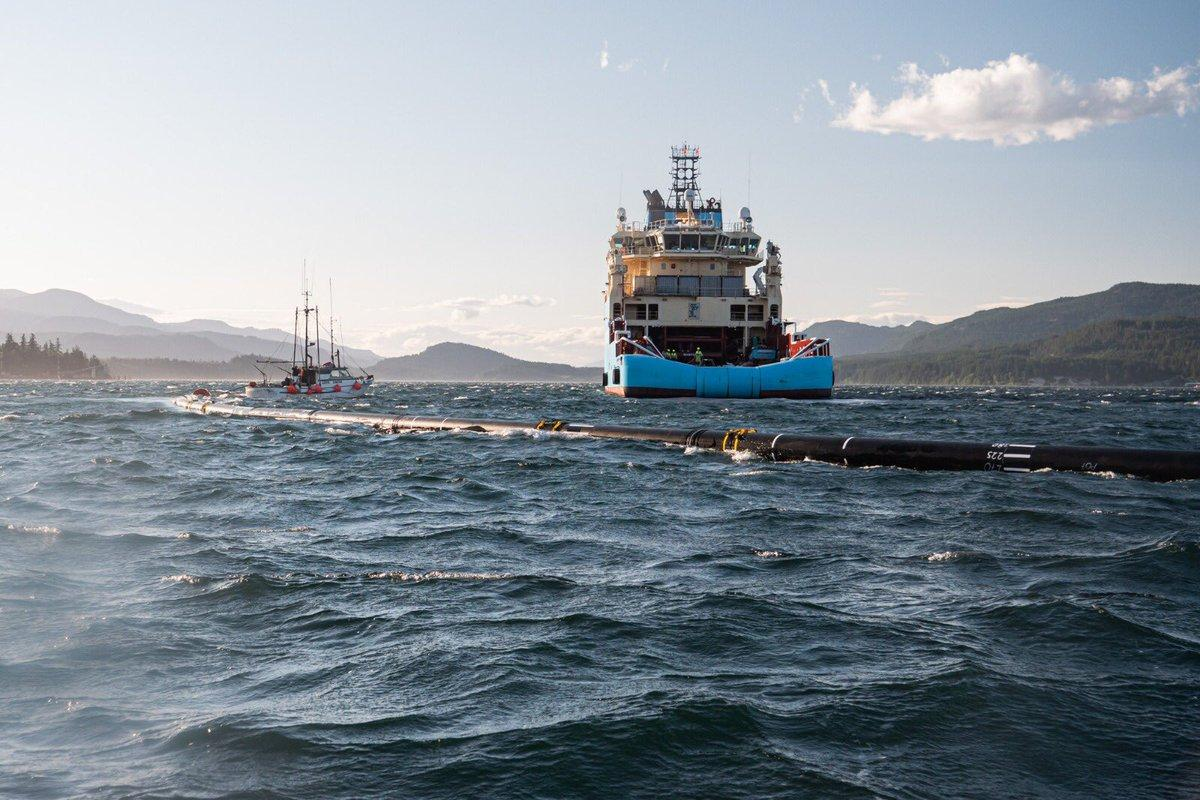 It was October last year that the Ocean Cleanup Project installed the first version of its trash-collection device