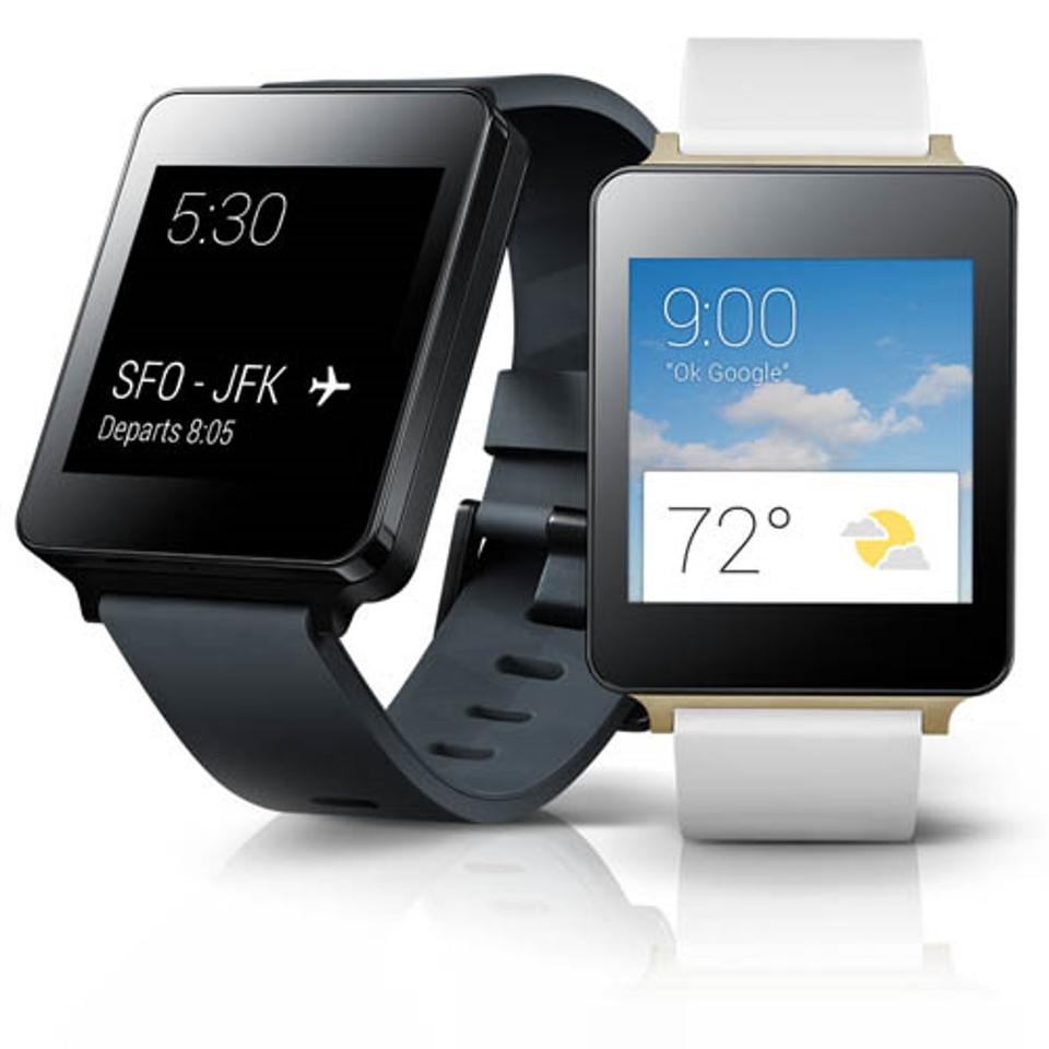 The LG G Watch is one of the first smartwatches powered by the Android Wear operating system