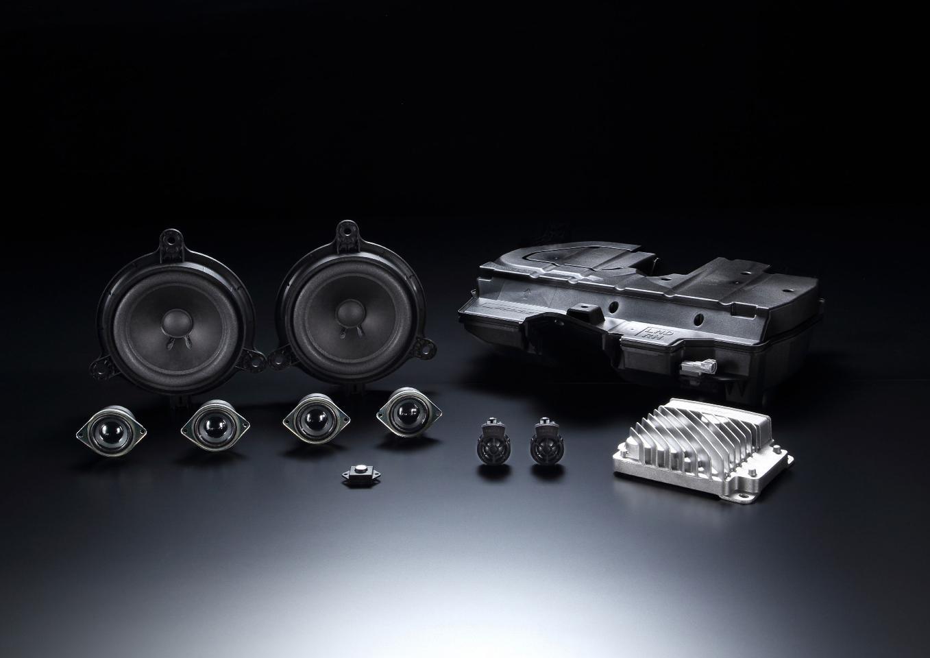 The complete new Bose sound system for the 2016 Mazda Miata