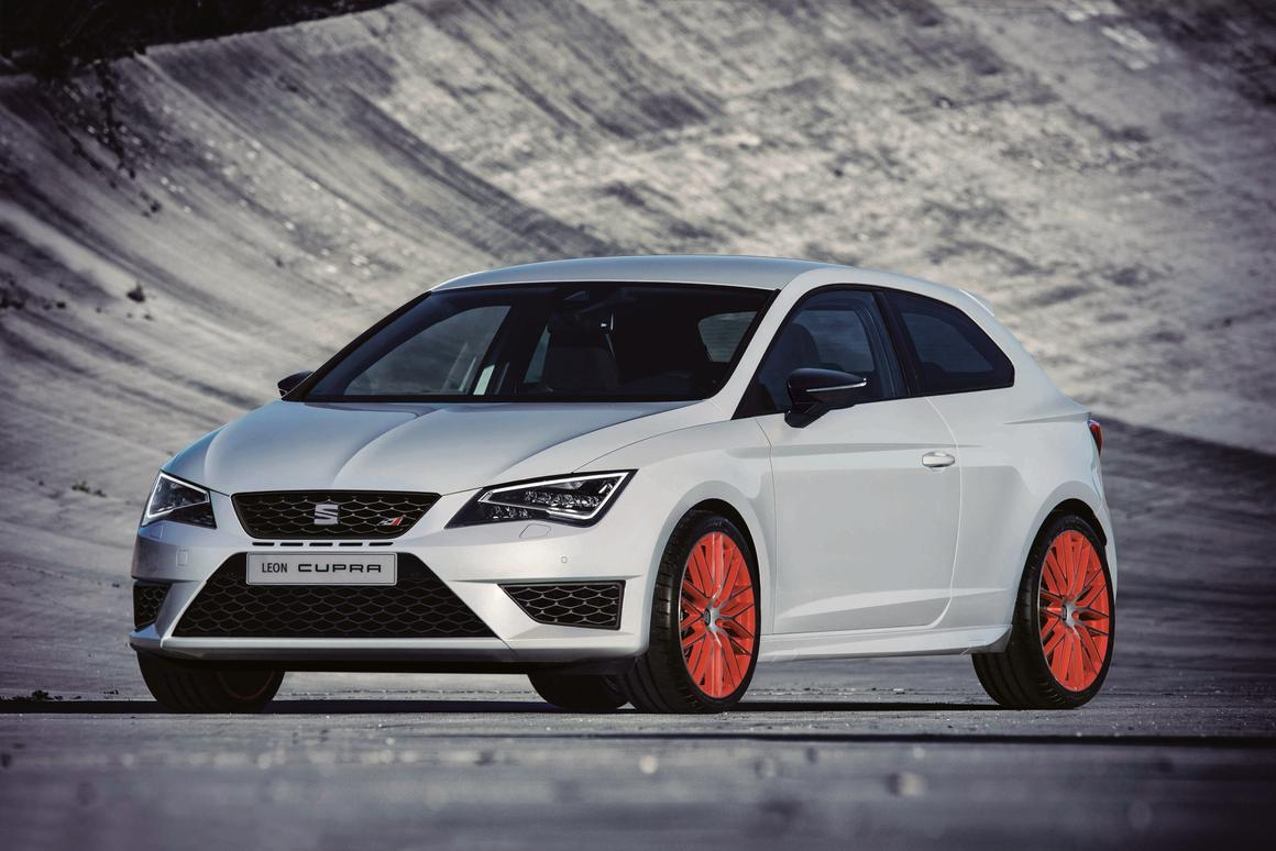 The SUB8 Performance Pack for its Leon Cupra 280 allows buyers to mirror the specs of Seat's Nürburgring car