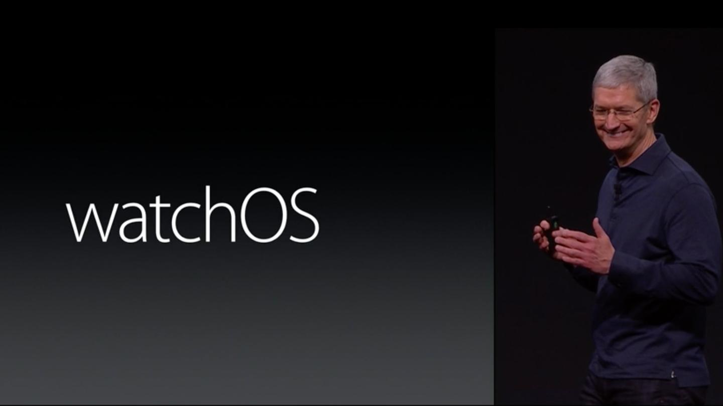 Tim Cook and company rolled out the first big update to the Apple Watch's software at today's WWDC keynote