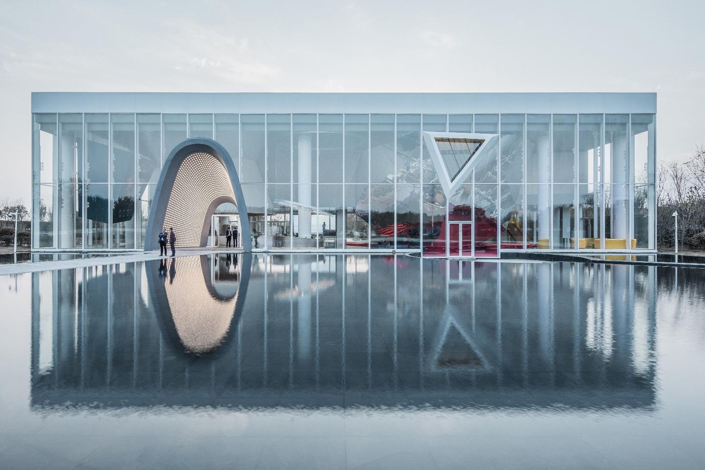 China's Courtyard No. 1, by AOE, is one of the projects shortlisted for the 2019 ABB LEAF Awards