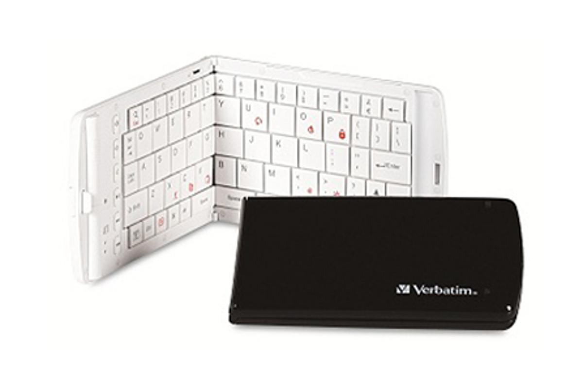 Verbatim's second generation of its Bluetooth Wireless Mobile Keyboard