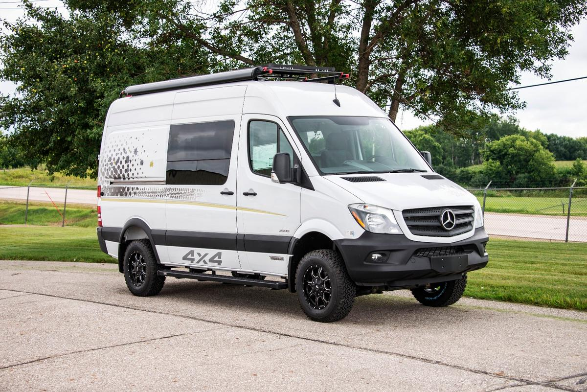 Winnebago courts outdoor sports enthusiasts with the Concept Adventure Vehicle