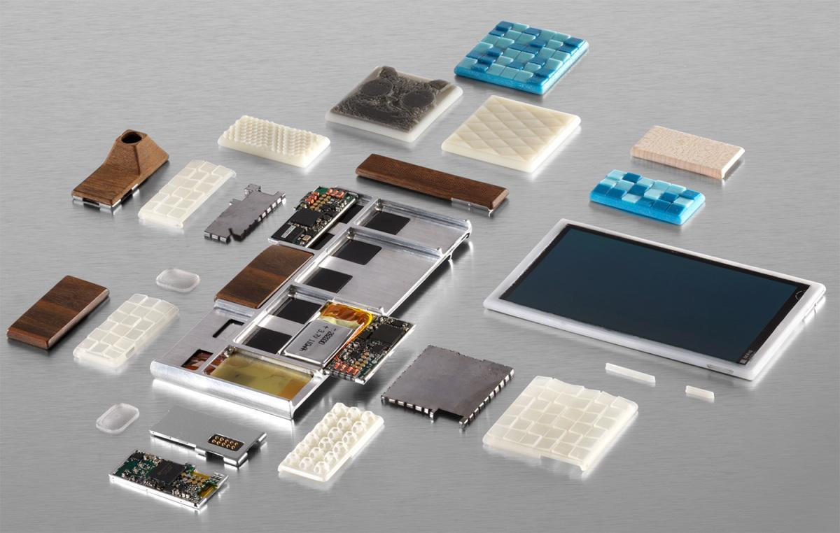 Google is planning to release its Project Ara modular smartphone in January 2015 (Image: Google)