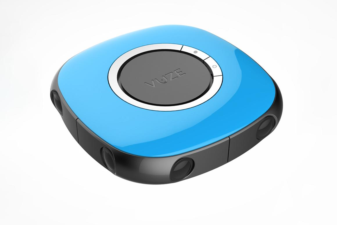 The Vuze is being billed as the world's first affordable consumer 360-degree 3D VR camera