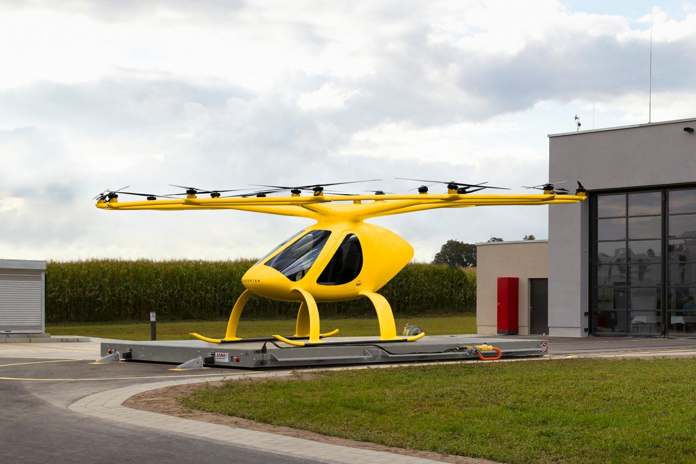 VoloCity의 구조 풍미는 조종사와 응급 의사가 담당합니다.