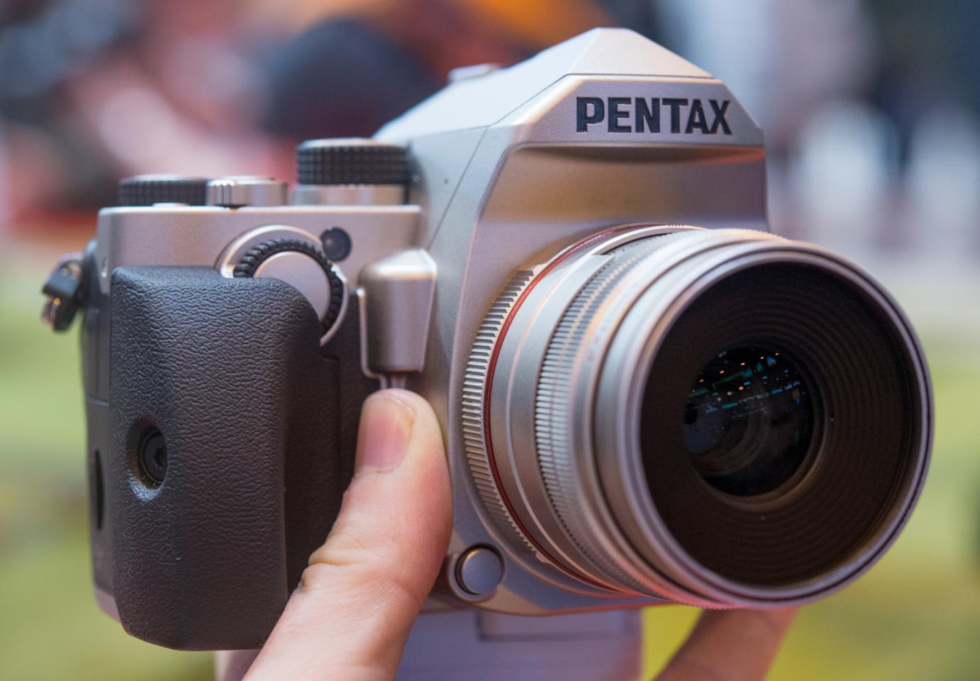 The Pentax KP is a compact DSLR which boasts sky-high ISO settings and built-in 5-axis image stabilization