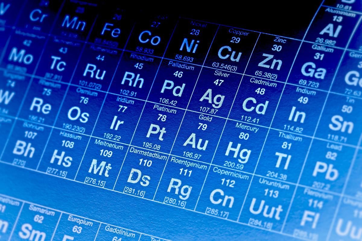 Element 117 could become a new member of the periodic table of elements (Image: Shutterstock)