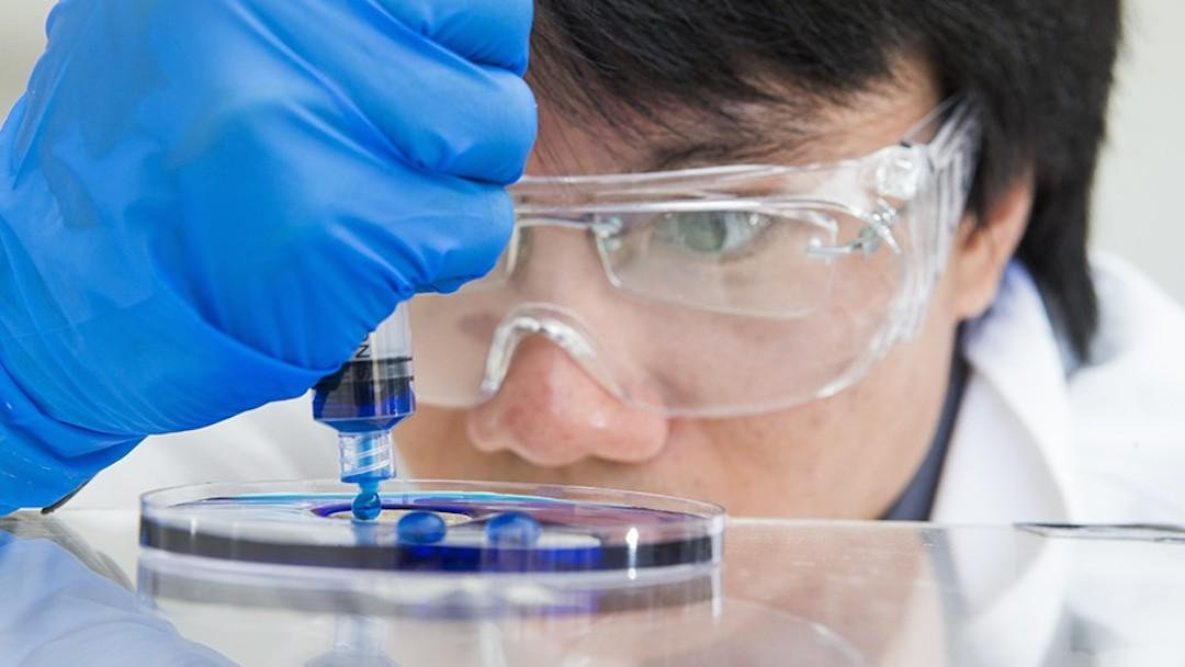 Researchers at ANU have developed a new material that repels water effectively, and is more durable than others