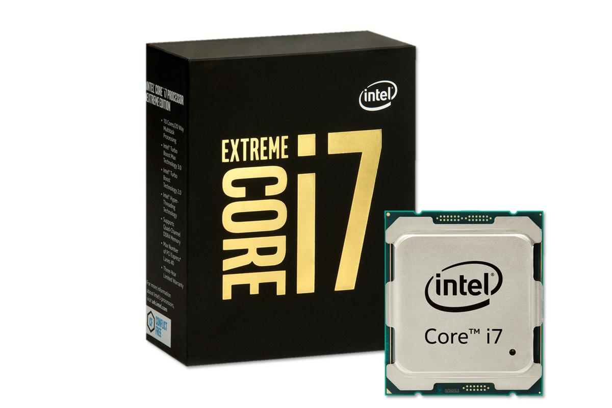 Intel announced an Extreme Edition line for its i7 processors this week, designed for VR and 4K gaming and videos, and includes a 10-core CPU