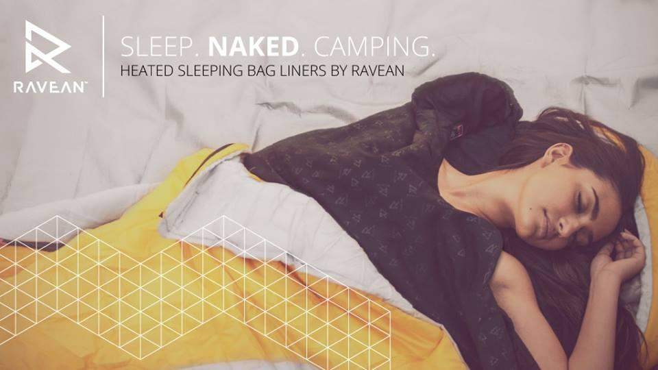 Ravean turns its 12V heating tech to sleeping bag liners
