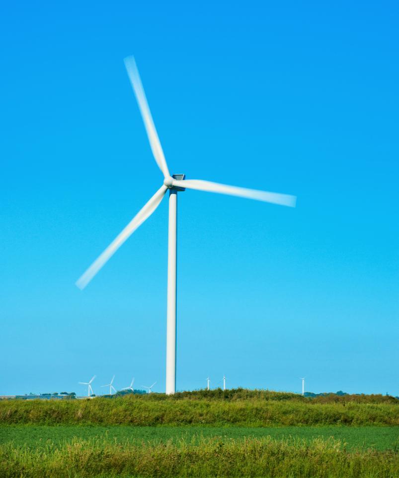 The Vestas 3.0 MW V112 turbine