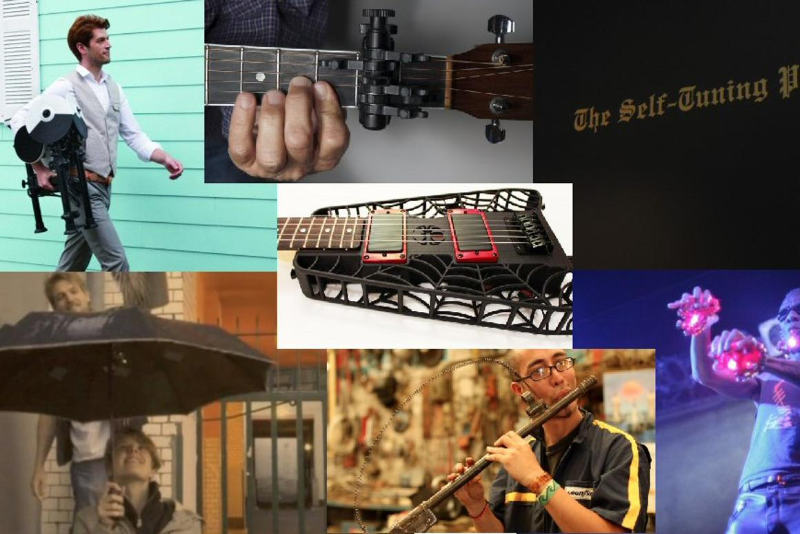 A retrospective of the best weird and wonderful instruments of 2012