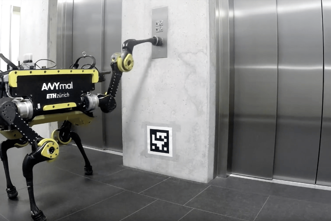 Anymal is a quadrupedal robot that can now use an elevator, meaning there is nowhere to run if it turns on its human owners