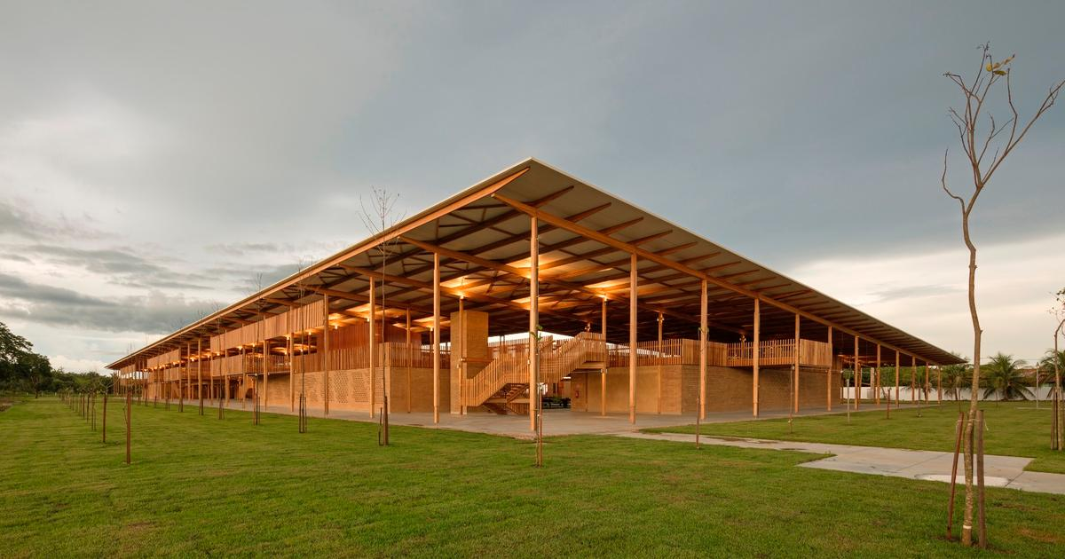 RIBA names beautiful Brazilian boarding school world's best new building