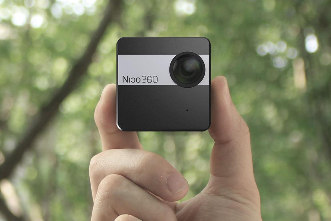 The Nico360 is billed as the world's smallest 360 camera