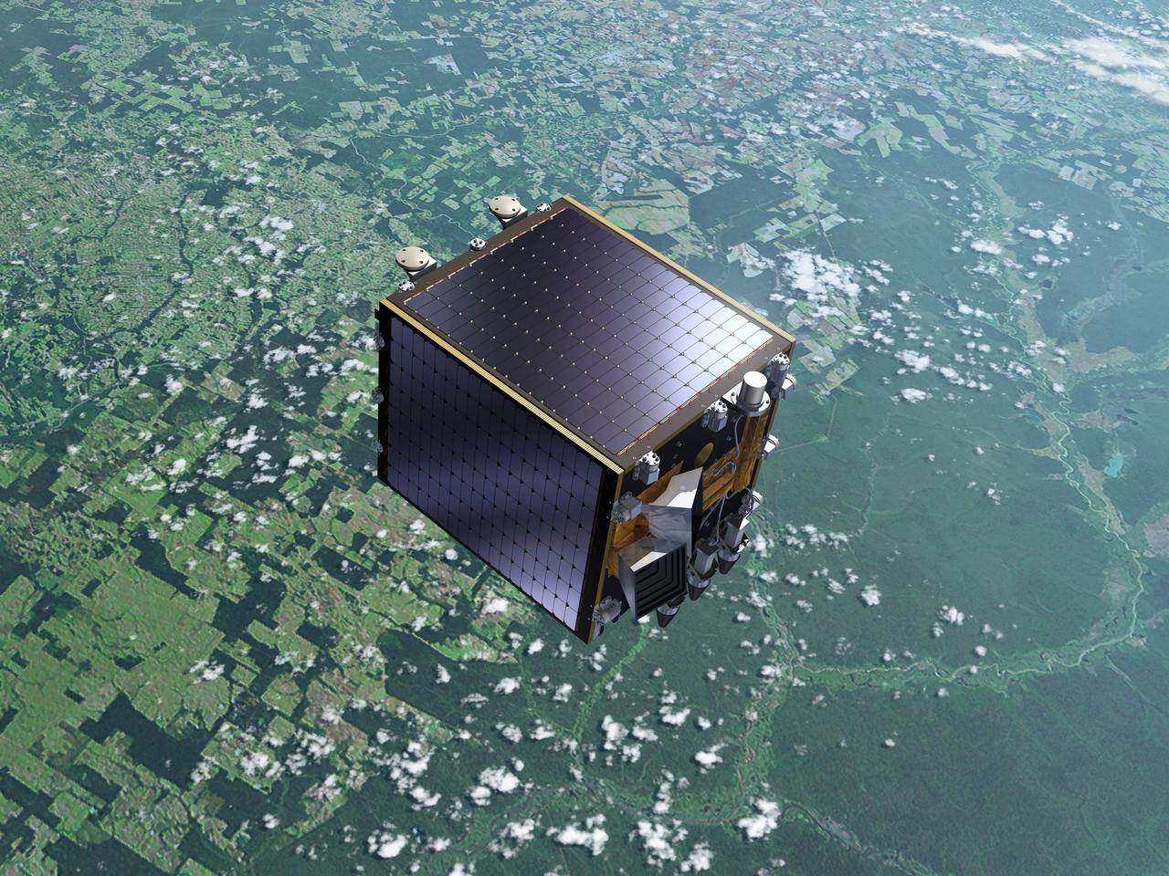 The ESA's Proba-V satellite (Image: ESA)