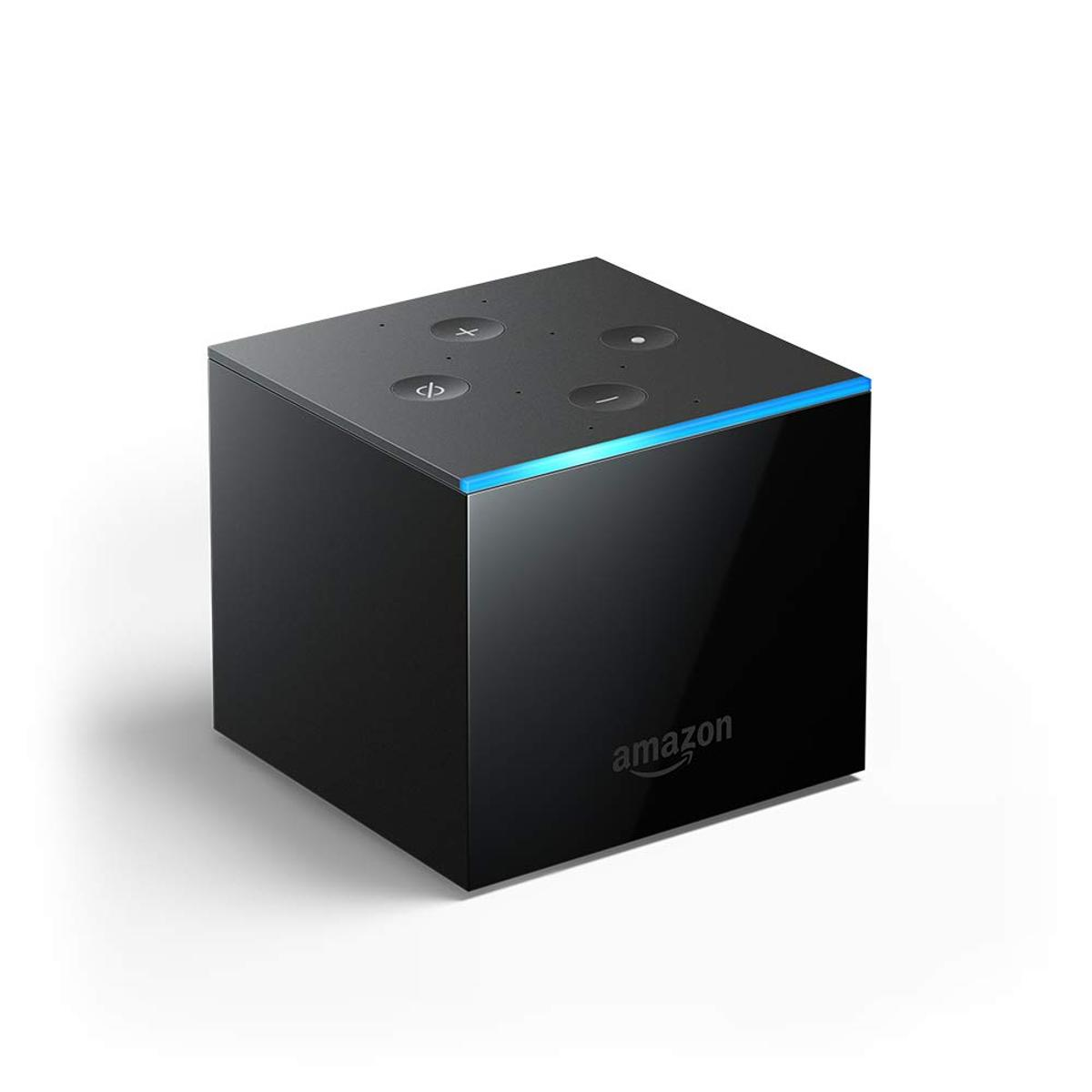 The new Fire TV Cube processes several key voice commands directly within the device, significantly speeding up response times