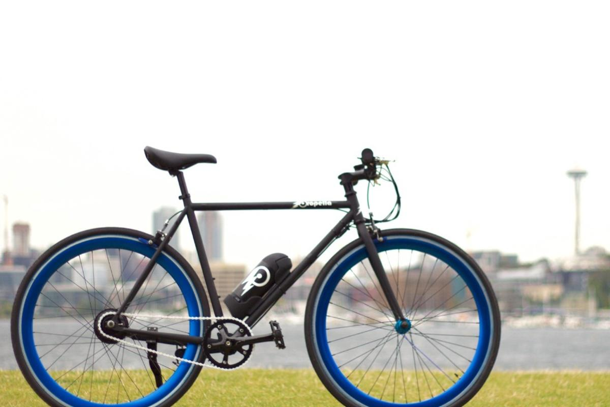 The Propella e-bike offers a classic look and a mix of pedelec and full throttle power