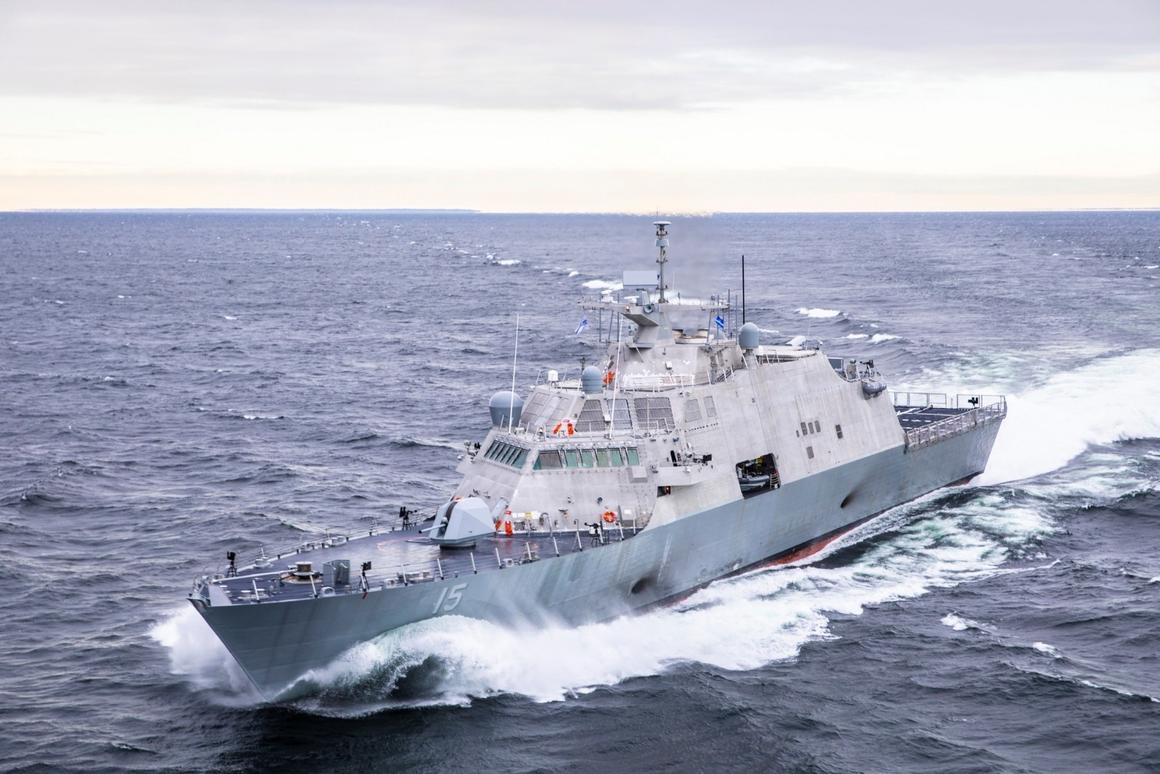 The USS Billings is aFreedom-variant LCS