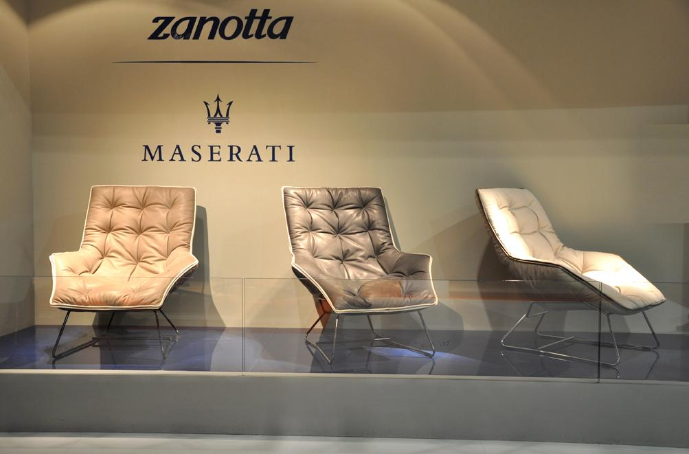 Maserati has partnered with Italian furniture manufacturer Zanotta, to create a limited-edition line of armchairs (photo: Edoardo Campanale/Gizmag)