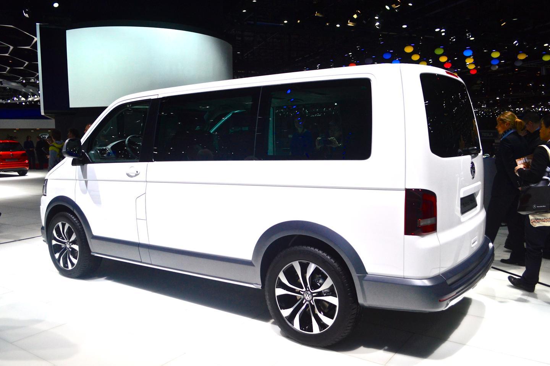 Volkswagen debuts the Multivan Alltrack at the 2014 Geneva Motor Show