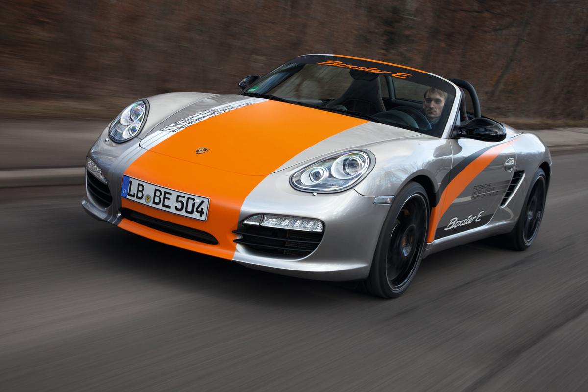 Porsche Boxter E prototype