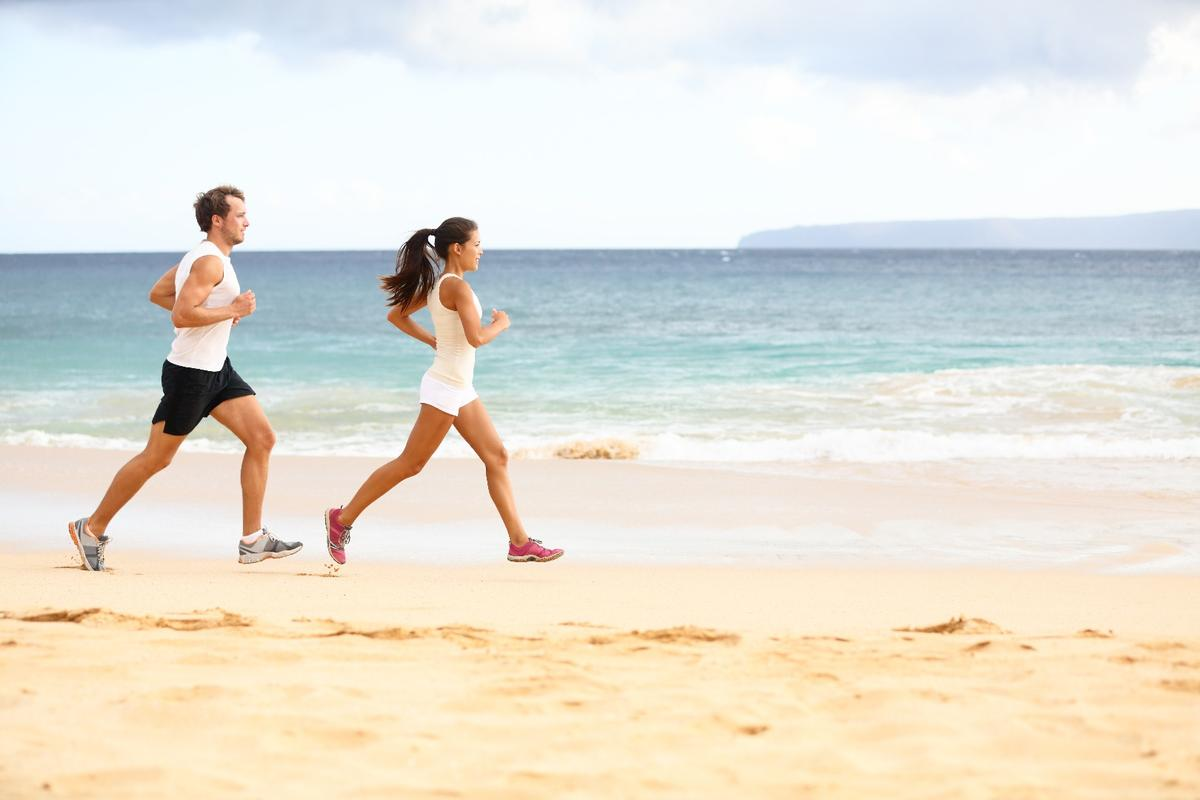 According to a new study, youngwomen have better aerobic fitness than men