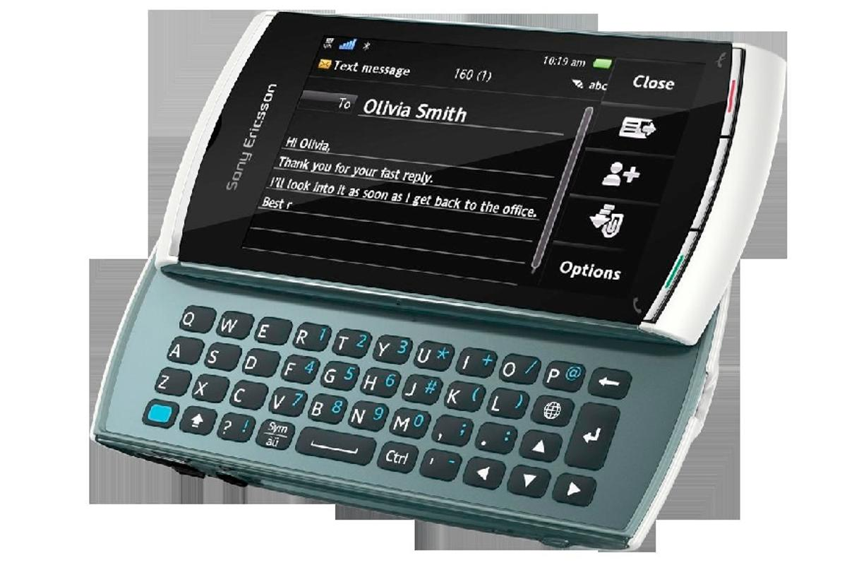 The Sony Ericsson Vivaz flagship handset has a new sister phone with a slide out QWERTY keyboard