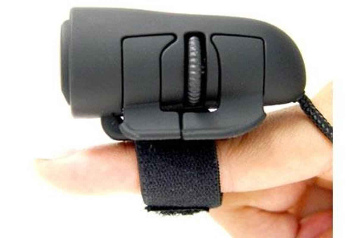 The Logisys Optical Finger Mouse