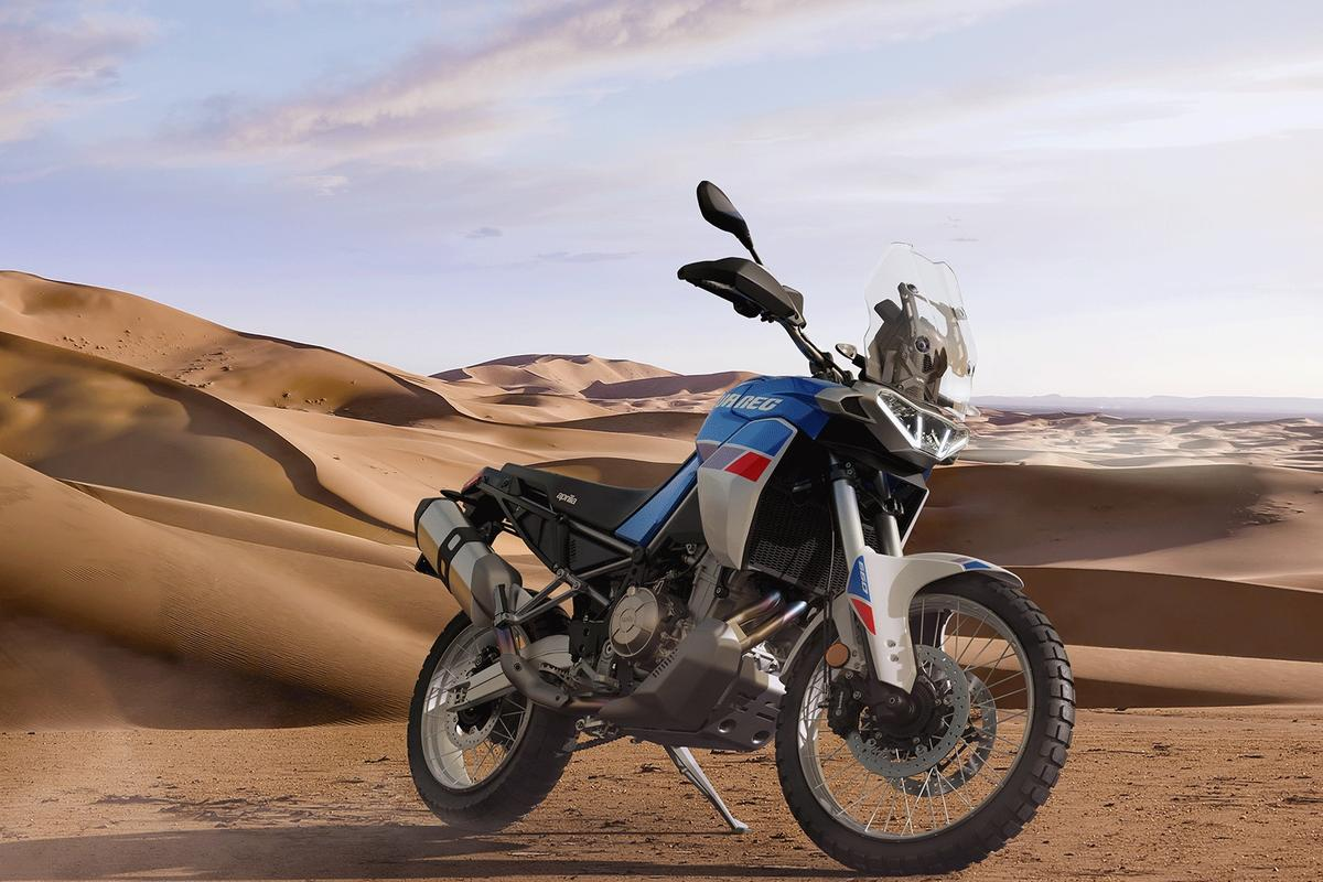 Aprilia has revealed a new middleweight adventure bike home for its 660cc parallel twin
