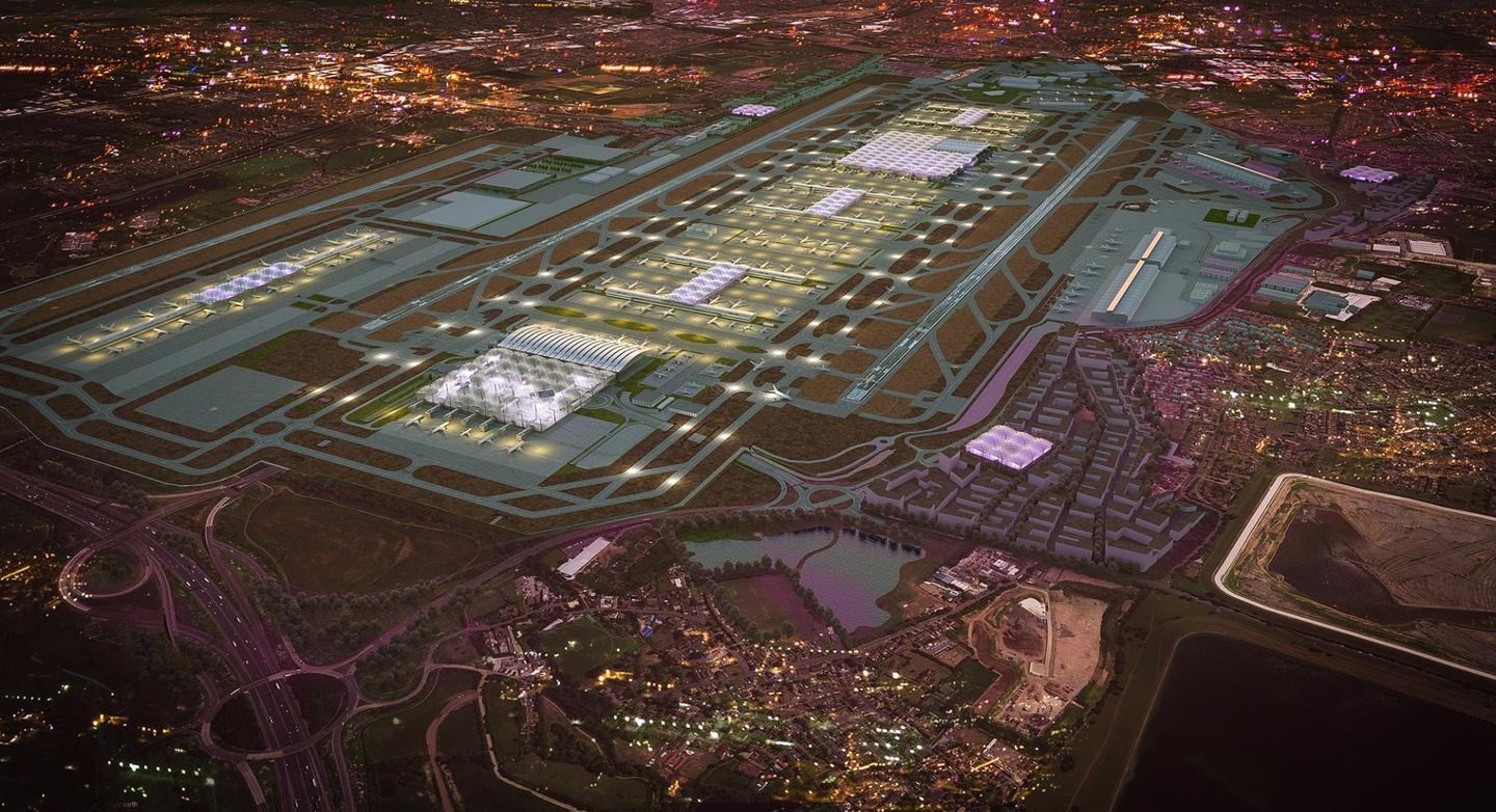 The plans would see the addition of a third runway and a sixth terminal to the existing facilities at Heathrow