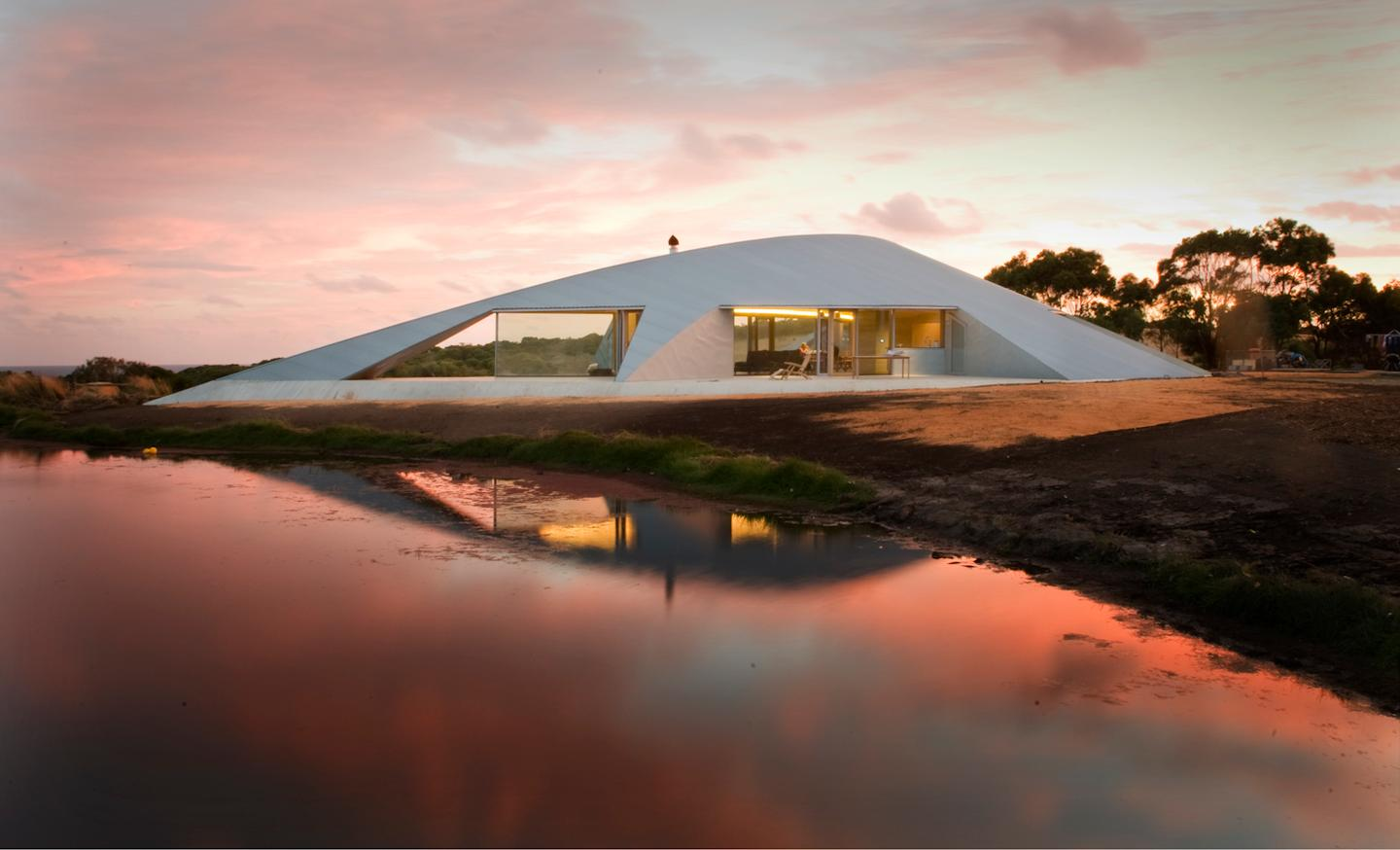 Crofthouse by Australian architect James Stockwell was recently awarded the Alan and Beth Coldicutt Award for Sustainable Architecture