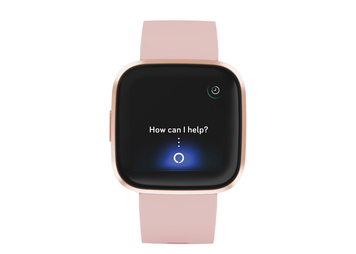 The Fitbit Versa 2 comes with Amazon Alexa