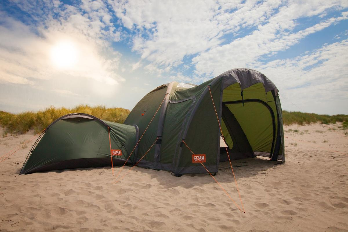 Crua Outdoors has turned to Kickstarter to bring its Crua Clan modular tent system to market