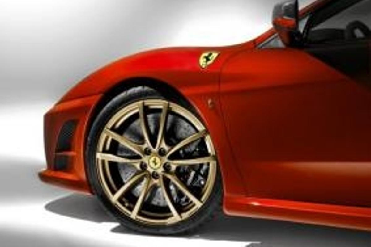 Ferrari's new 430 Scuderia, a lighter, faster version of the amazing F430 with all-new F1-derived technology.