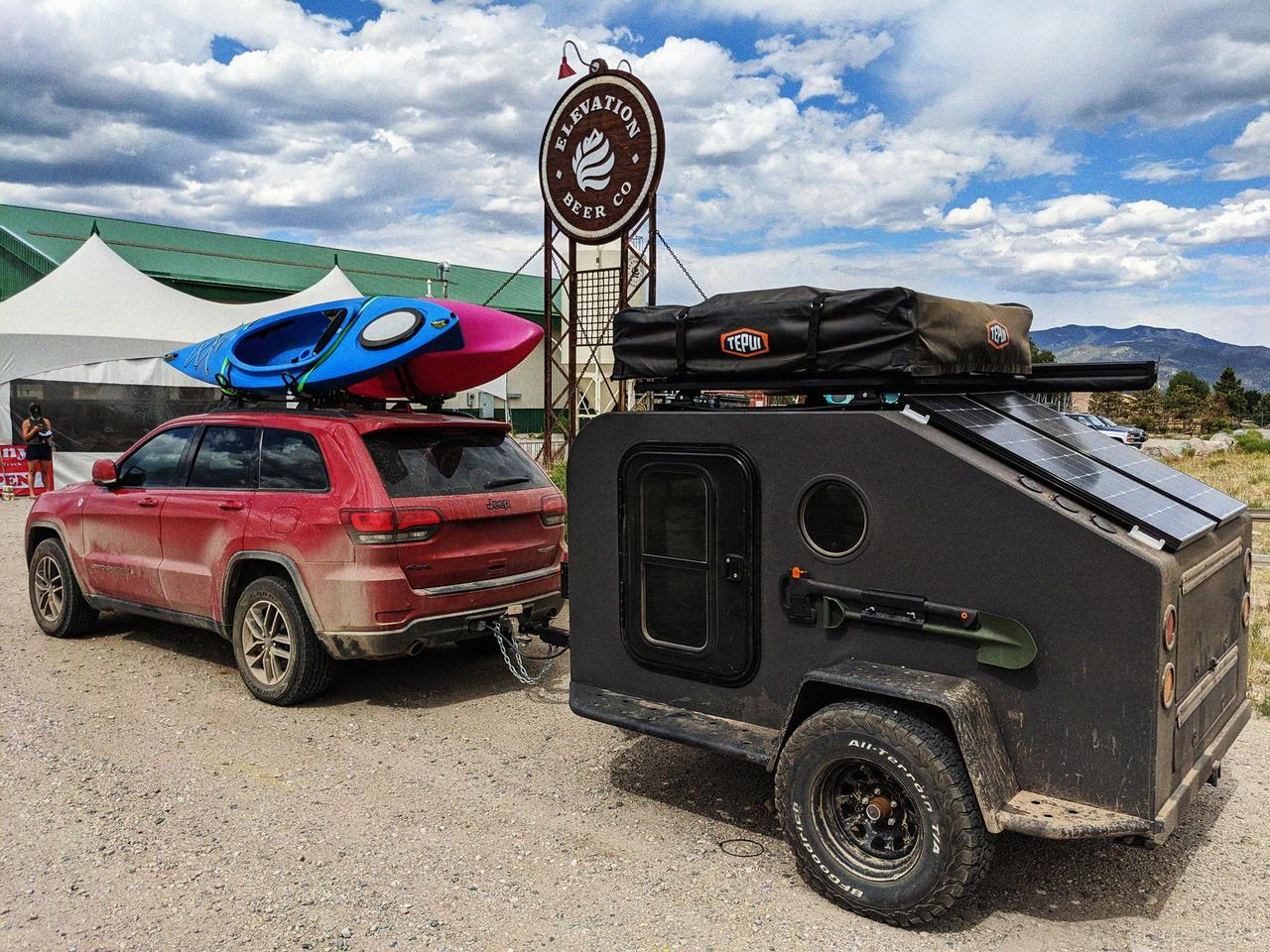 Colorado Campworks demo Nomad (NS-1) trailer gets dirty