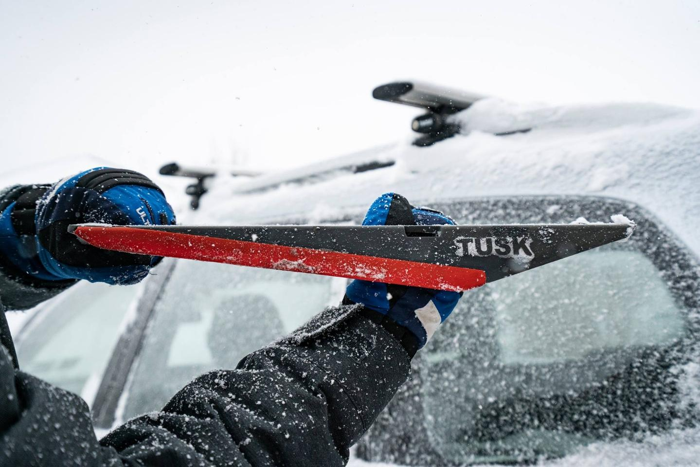 The Tusk is billed as a seven-in-one multitool for all seasons, but winter seems to be where it will be doing most of its heavy lifting