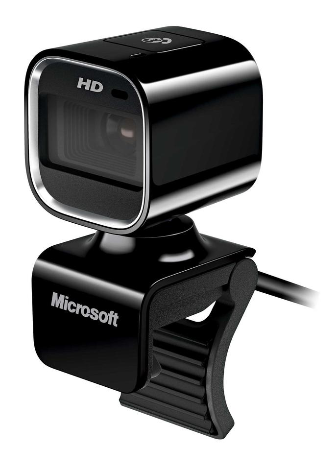 The new LifeCam HD-6000 from Microsoft, built for mobile video