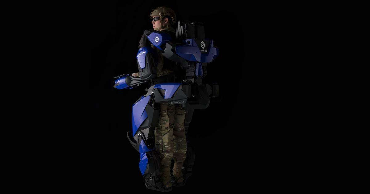 Sarcos robo-suit turning Delta crews into superhuman man-machines