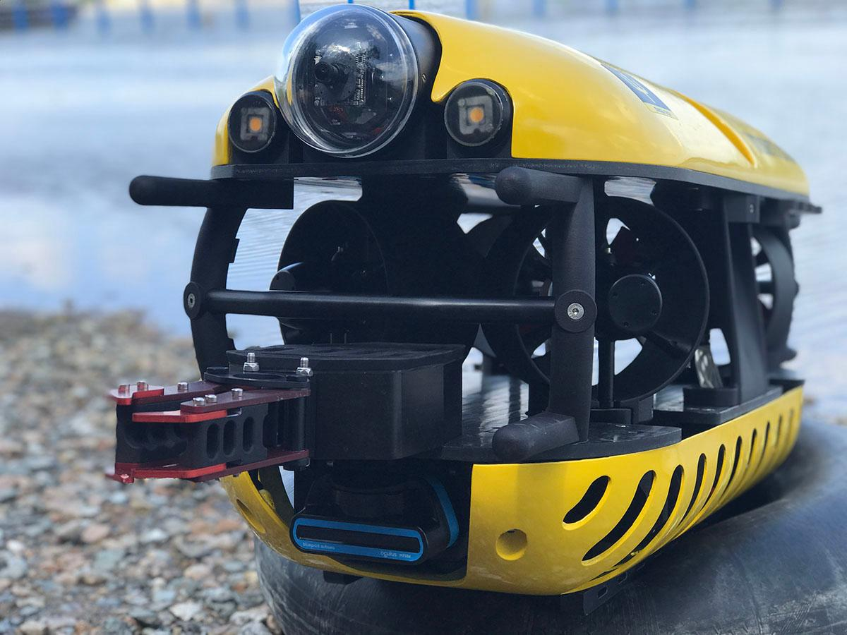 Subsea Tech's Tortuga ROV, which will be part of the SeaClear system