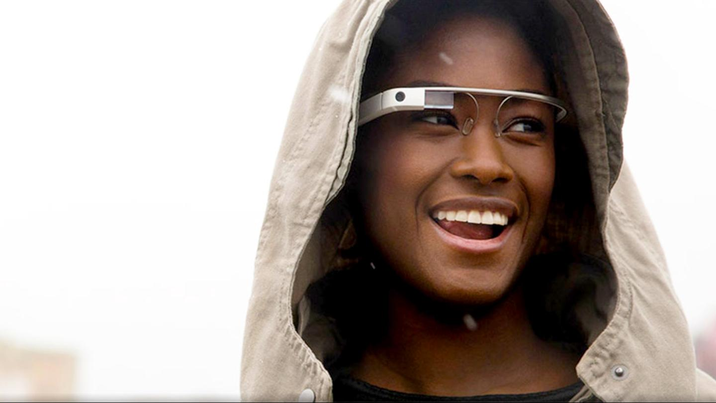 None of Google's models have much glass in their Glass