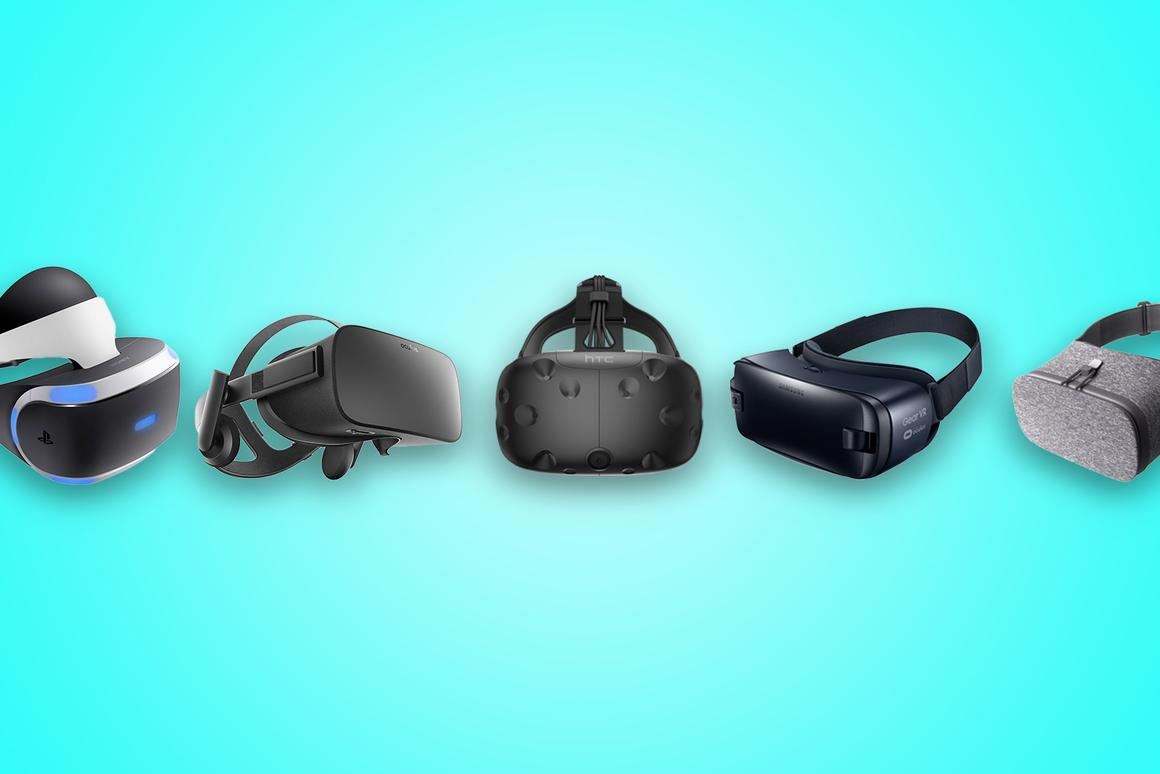 New Atlas compares the best VR headsets you can buy in 2016