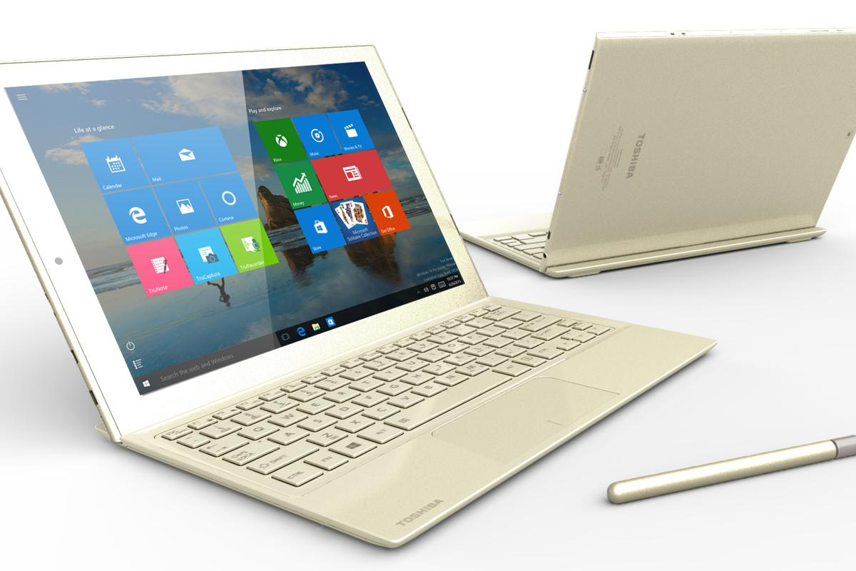 Toshiba's new hybrid comes with an active stylus in the box